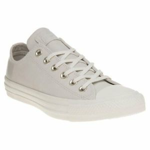 Womens Converse Natural All Star Ox Leather Traine